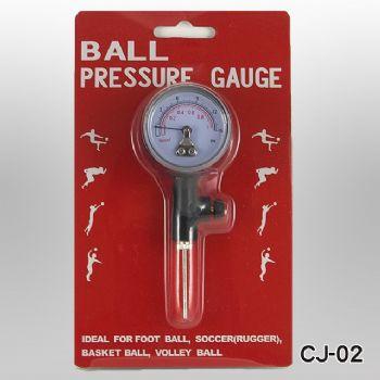 Metal Ball Pressure Gauge + 1pc Metal Needle